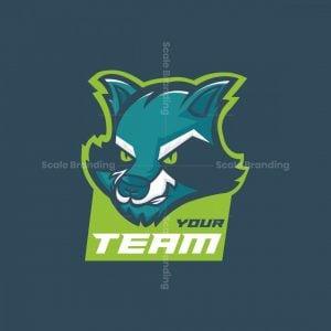 Fierce Raccoon Esports Mascot Logo