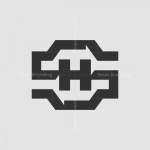 Sh Or Hs Monogram Logo
