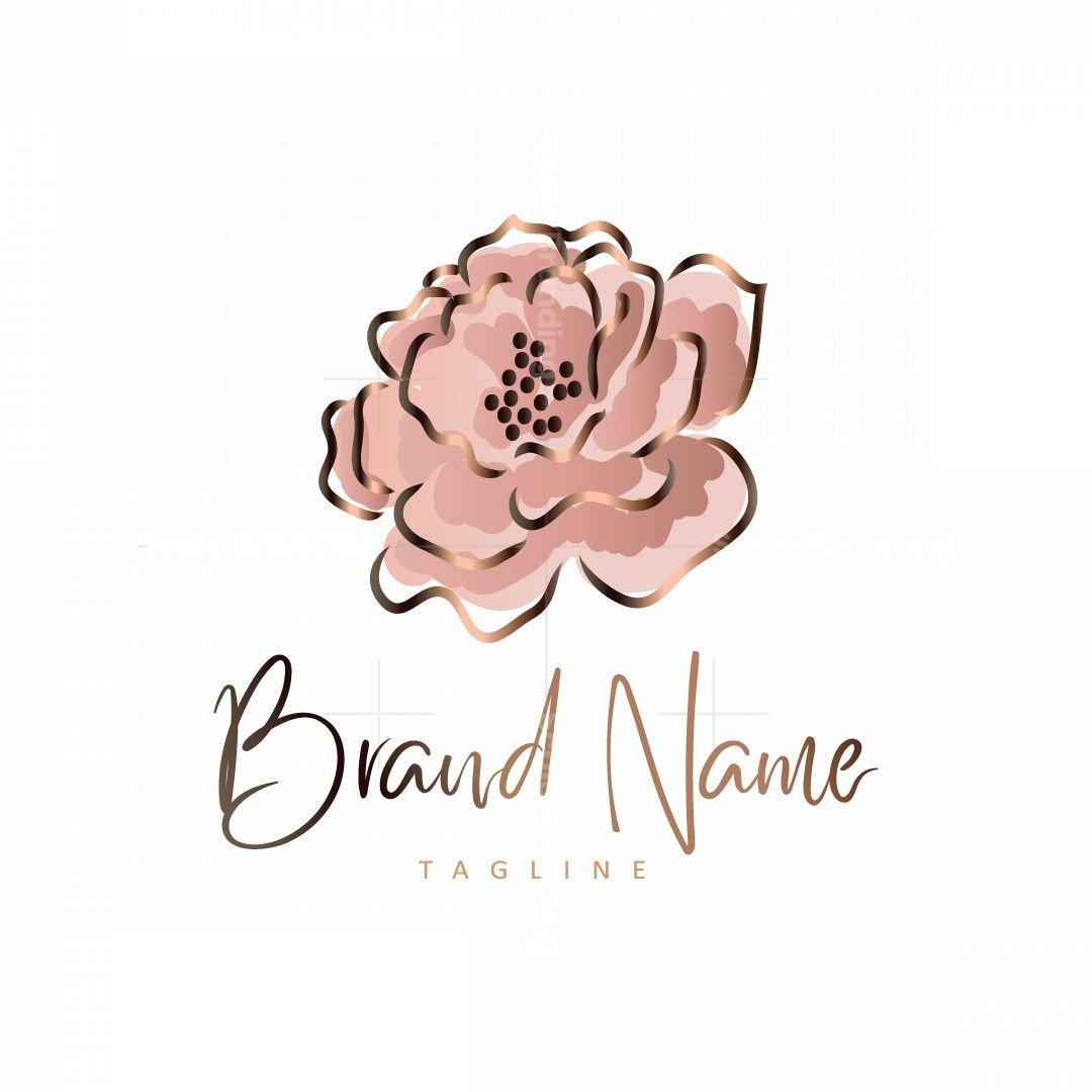 Luxury Flower Logo