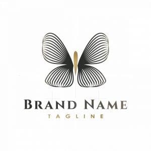 Multiline Butterfly Logo
