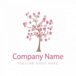 Flower And Tree Logo