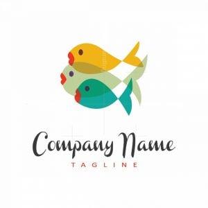 Colorful Fish Logo