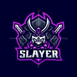 Katana Slayer Mascot Logo