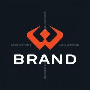 Sporty Letter W Logo