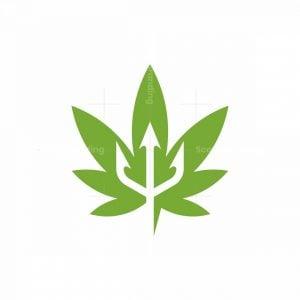 Trident Cannabis Logo