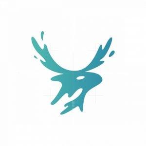 Water Deer Logo