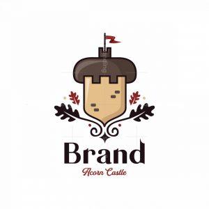 Acorn Castle Symbol Logo