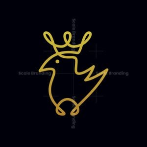 Bird With A Crown Logo