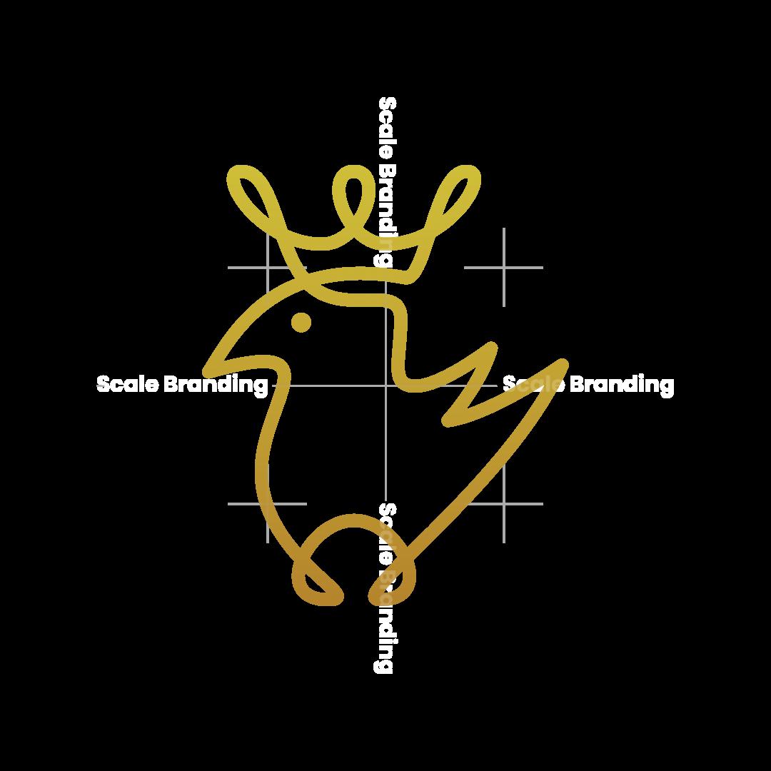 Bird With A Crown Logo