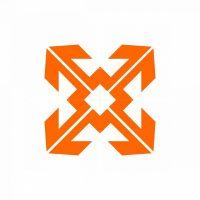 Square Arrow Aka Bmwe Letter Monogram Logo