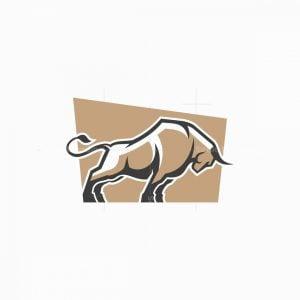Bull Symbol Logo