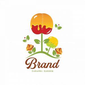 Caramel Garden Pictorial Logo