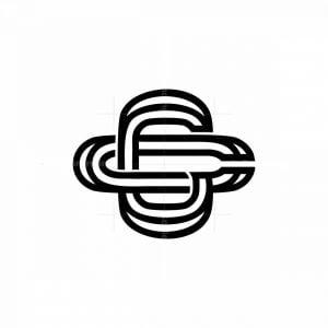 Unique Letter Cc Or Gc Initial Monogram Logo
