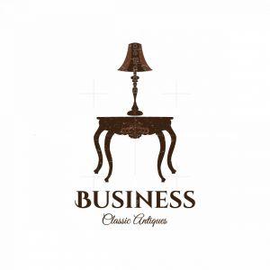 Classic Antiques Furniture Symbol Logos