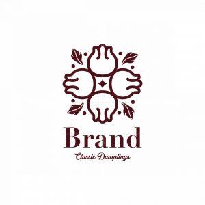 Classic Dumplings Symbol Logo