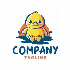 Cute Duck Logo