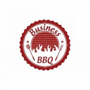 Fire Grill Barbeque Symbol Logo