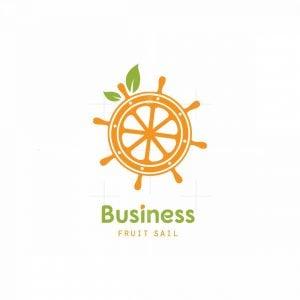 Fruit Sail Symbol Logo