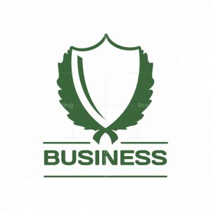 Green Shield Symbol Logo