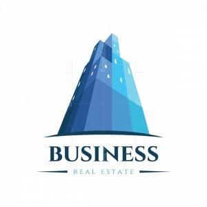 High Rise Real Estate Symbol Logo