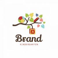 Kids Branch Symbol Logo