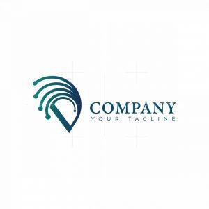 Letter D Network Logo