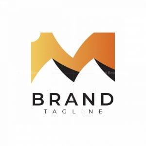 Letter M Desert Logo