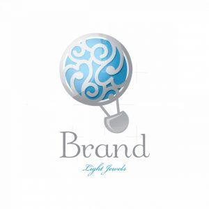 Light Jewel Symbol Logo