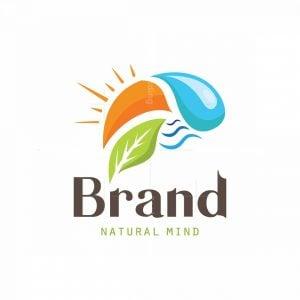 Natural Mind Symbol Logo