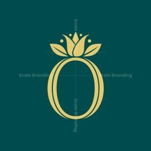 O Letter Organic Logo