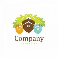 Oak City Real Estate Symbol Logo