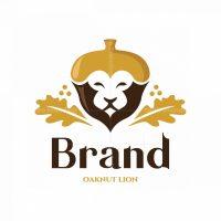 Oaknut Lion Symbol Logo