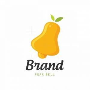 Pear Bell Symbol Logo