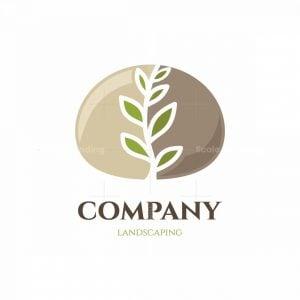 Pebble Garden Symbol Logo