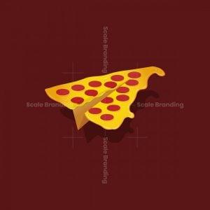 Paper Plane Pizza Logo