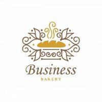 Quality Bread Symbol Logo