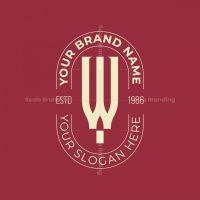W Wine Logo