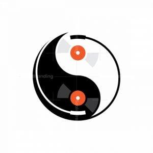 Yin Yang Music Logo