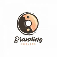 Yin And Yang Donut Logo
