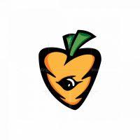 Cartoon Carrot Logo