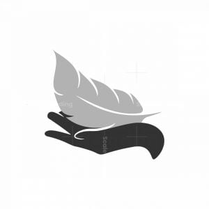 Hand With Feather Logo