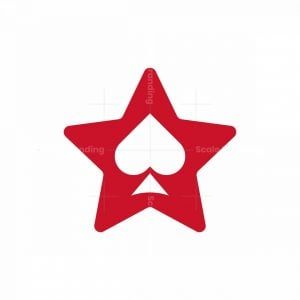 Spade Star Logo