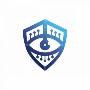 Secure Shield Eye Logo