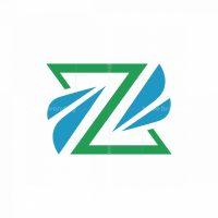 Letter Z Wings Logo