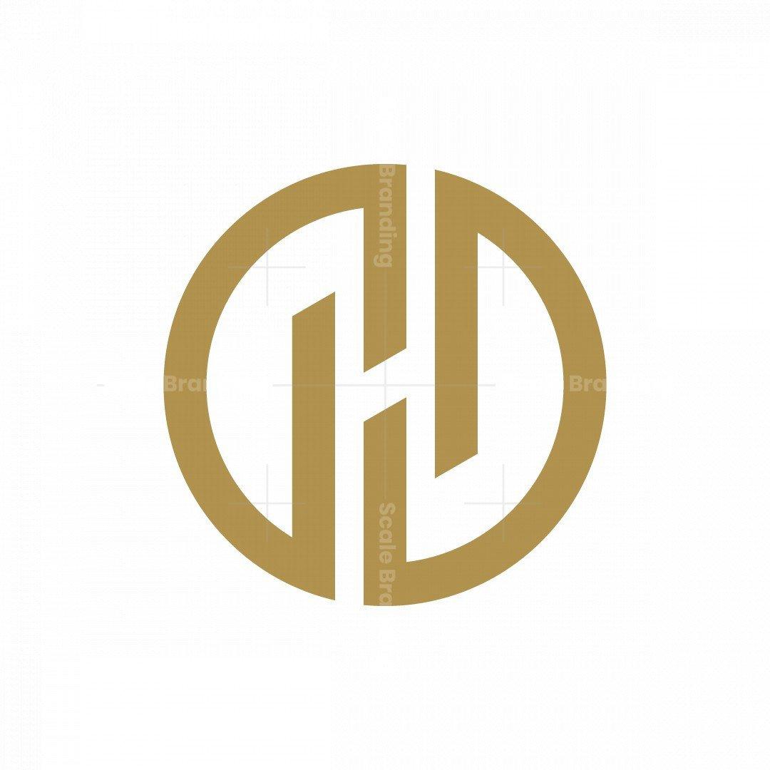 Letter H Circle Logo