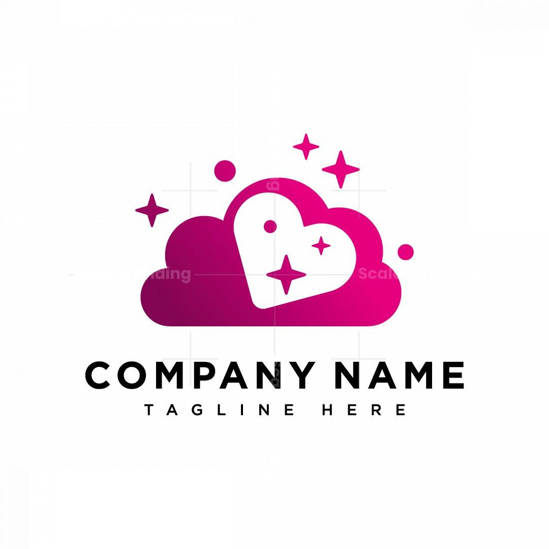Cloud Heart Logo