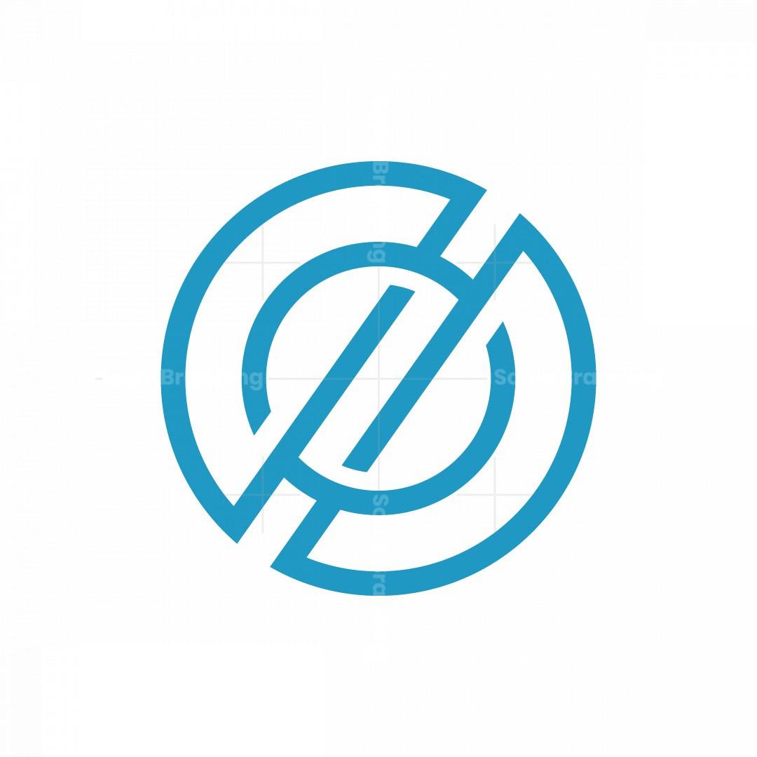 Orbital O Letter Tech Logo