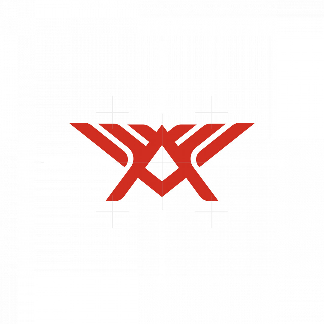 Letter A Wings Logo