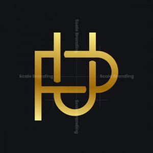 U And P Monogram Logo