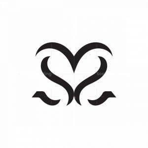 3d Ss Love Logo